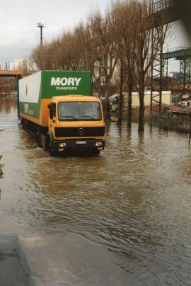 Innondation a sedan decembre 1993