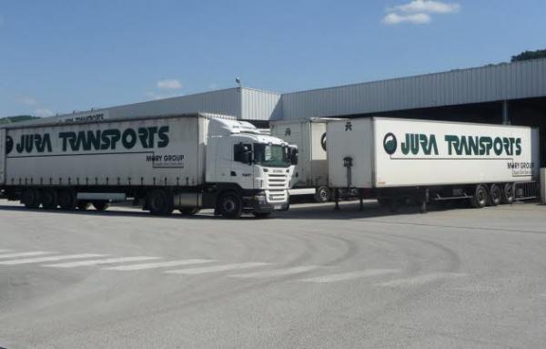 Jura transports a montmorot comprend aussi jt logistique a courlaoux et emploie au total deux cents salaries photo eva rodriguez